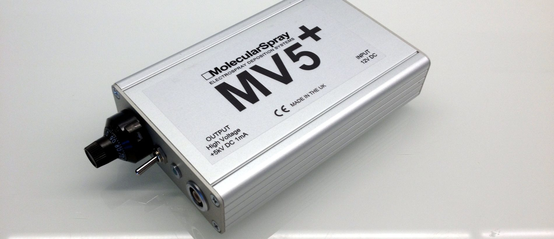 MV5 ultra-portable high voltage power supply